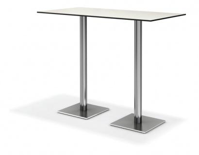 Centre high pedestal table 40x40cm base for Table basse 40 cm largeur