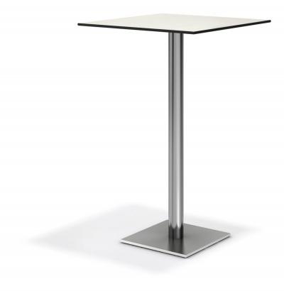 Centre high pedestal table 40x40cm base - Table basse 40 cm largeur ...