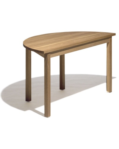 Quot B 312hr Quot Half Round Wooden Conference Table