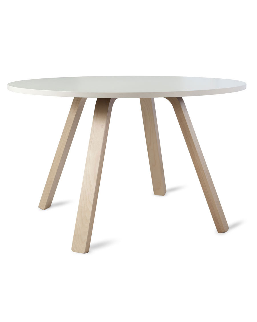 BR Round Wooden Conference Table - Round wood conference table