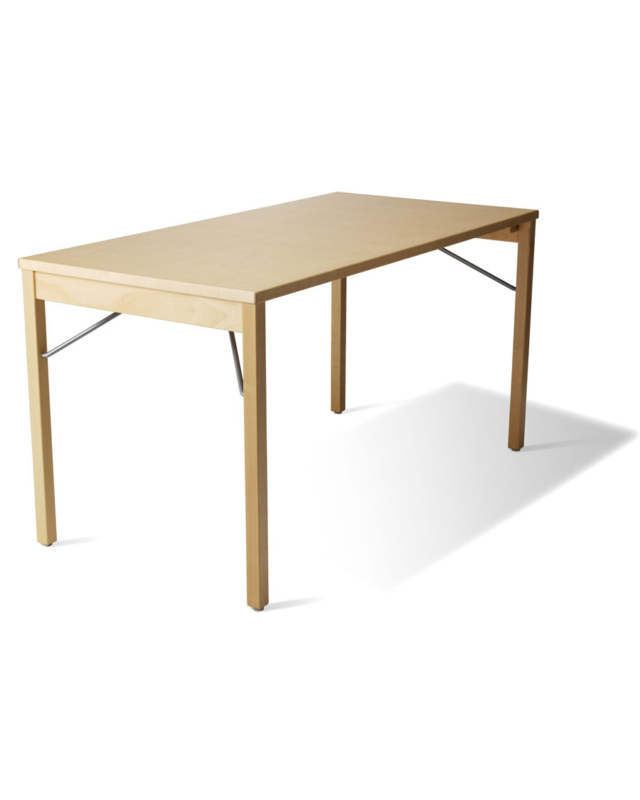 B Folding Wooden Conference Table - Large wooden conference table