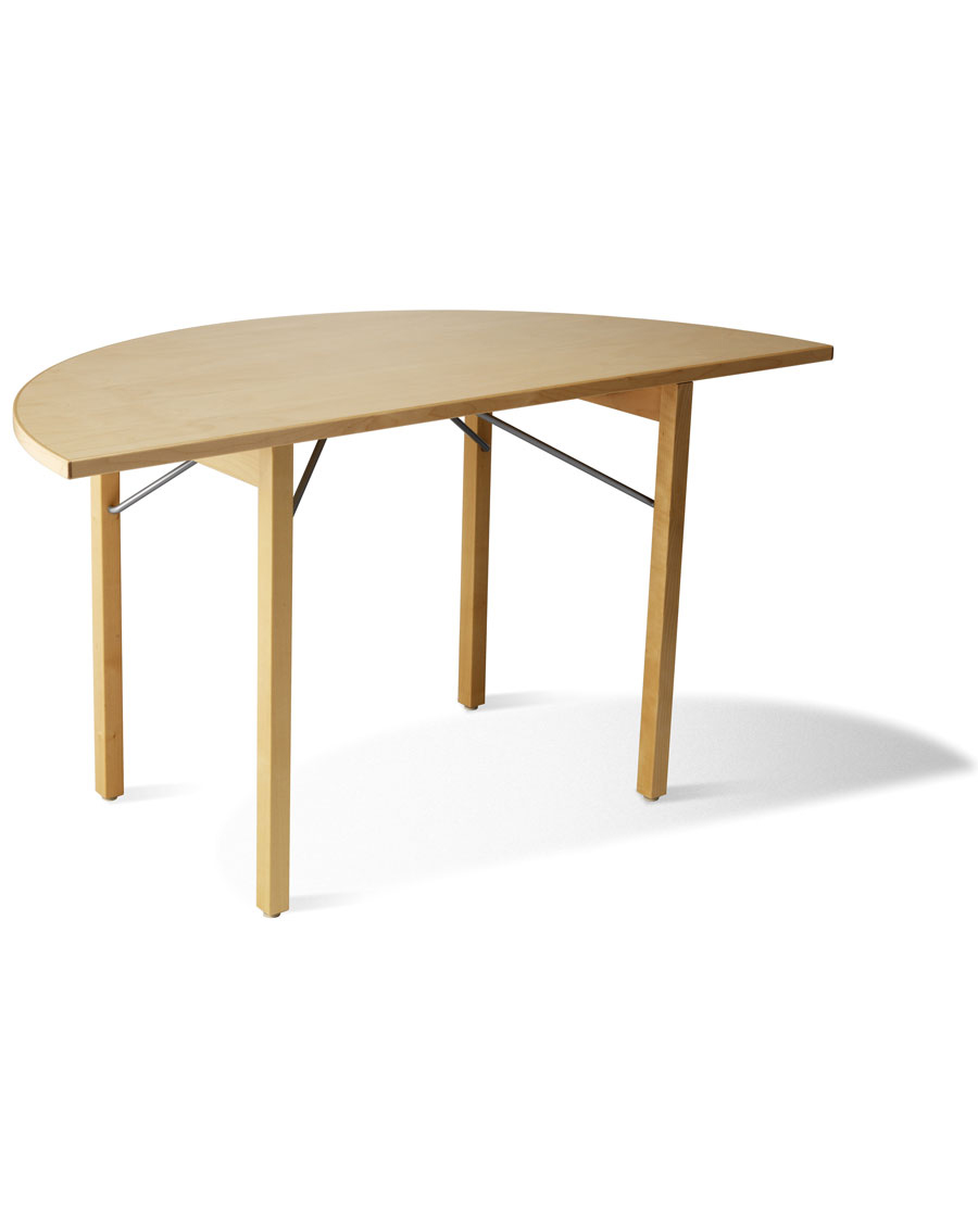 BHR HalfRound Folding Wooden Conference Table - Half circle conference table