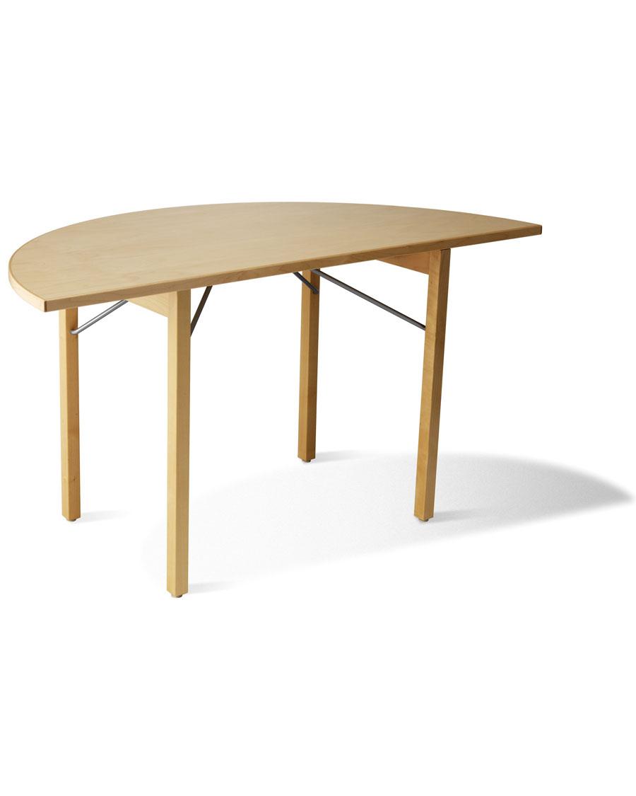 U0027u0027B 310HRu0027u0027 Half Round Folding Wooden Conference Table