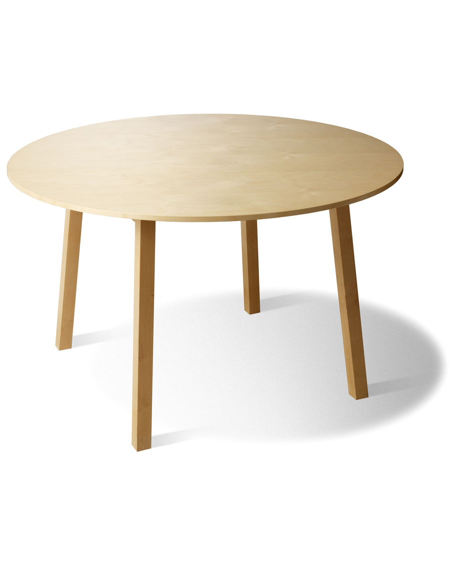 Quot B 464r Atomic Quot Round Wooden Conference Table