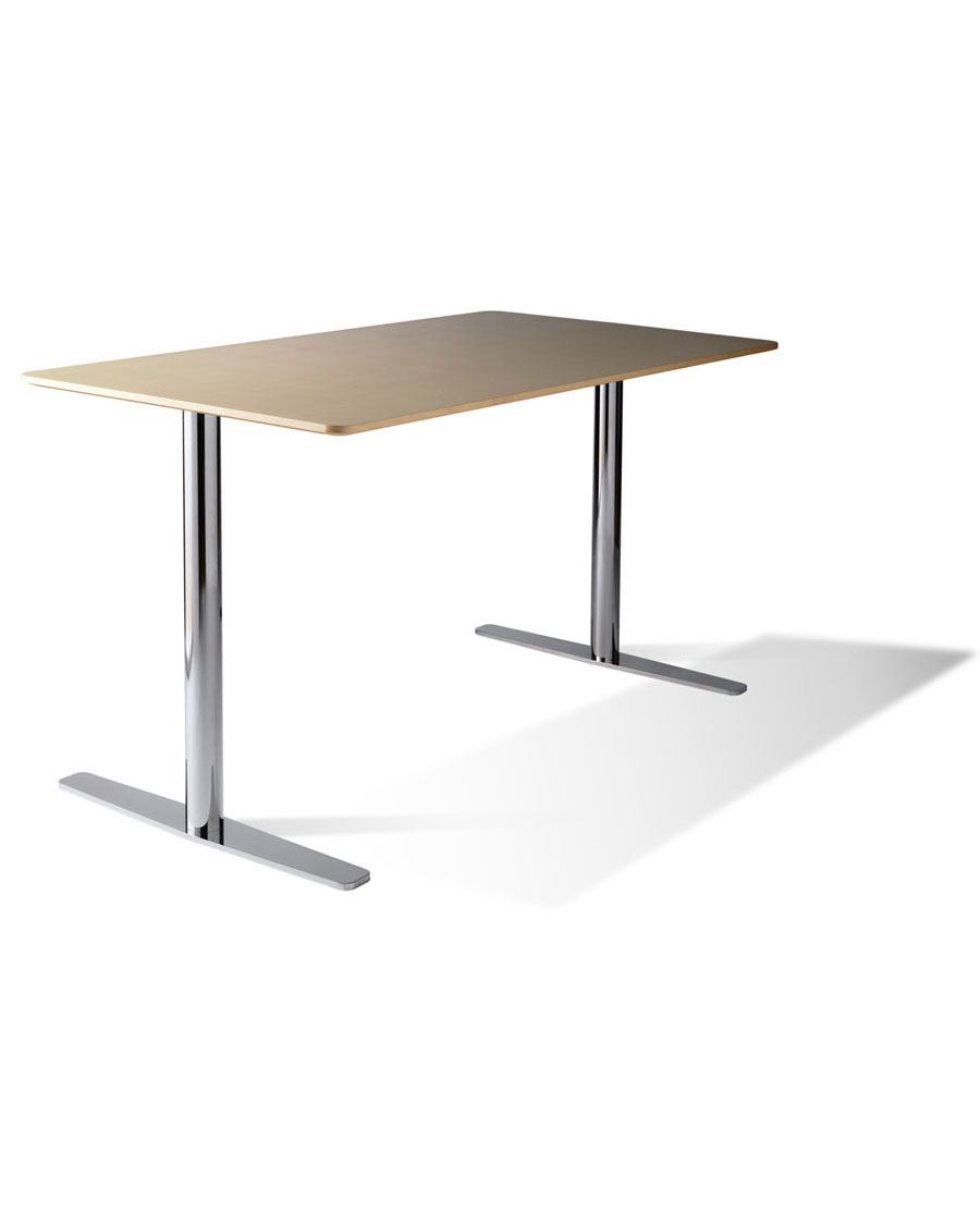 B Twin Pedestal Conference Table - Pedestal conference table