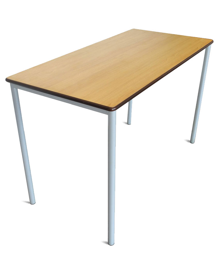Grade rectangular classroom desk for Tables and desks in the classroom