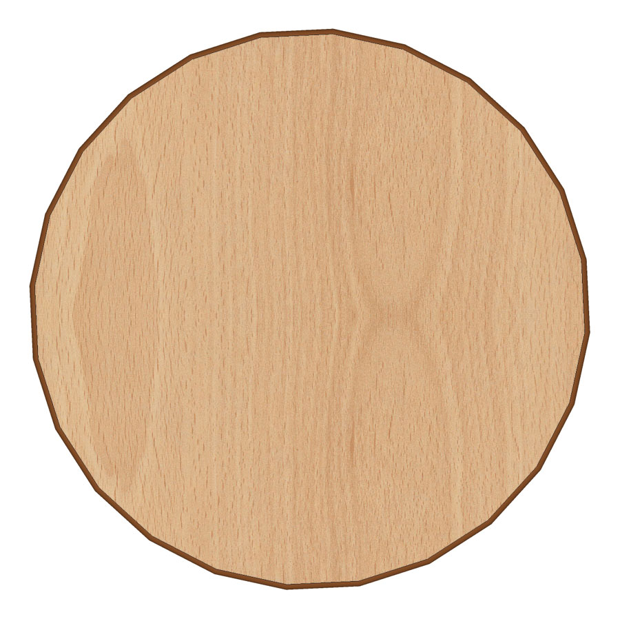 round table top 18mm
