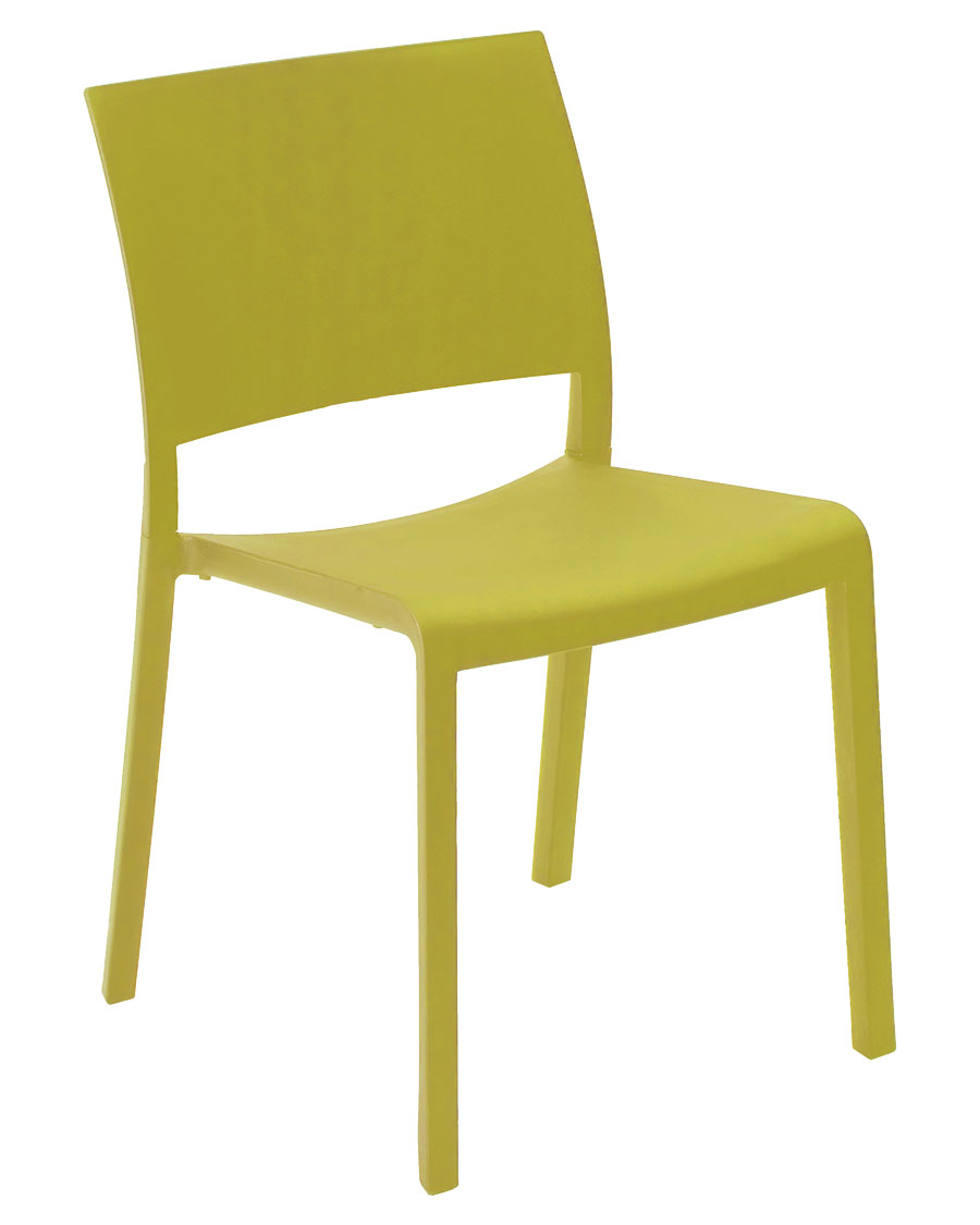Fiona Indoor / Outdoor Plastic Stacking Chair
