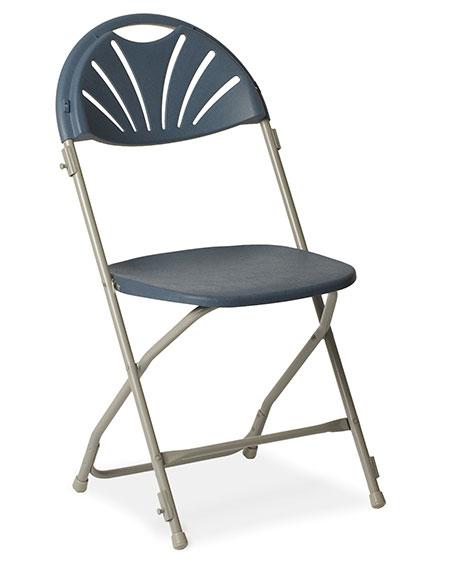 Fanback Poly Folding Chair