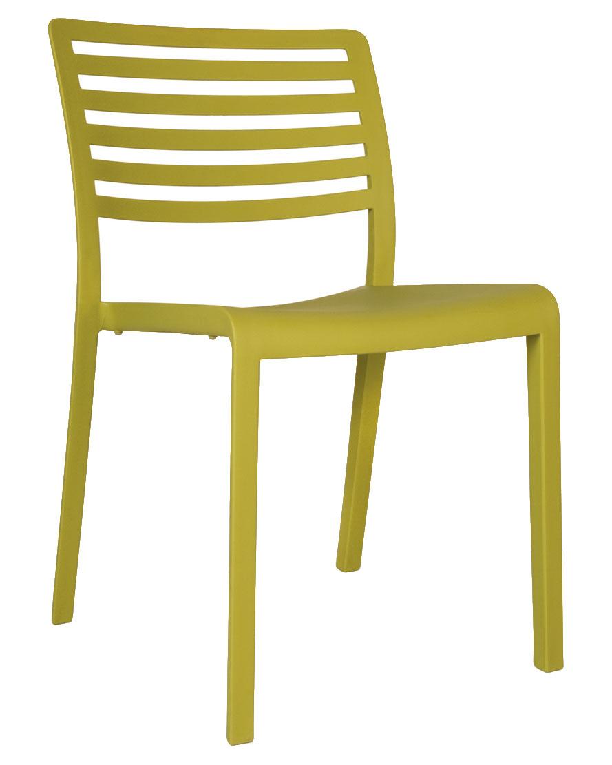 lama indoor outdoor plastic stacking chair