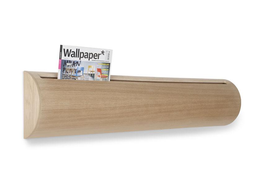 Pipe wall mounted magazine rack - Porte journaux design ...