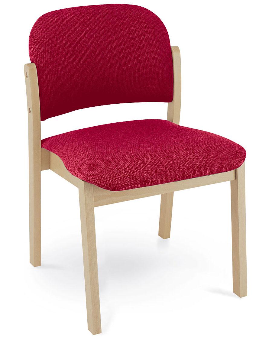 """Malva"" Padded Wooden Lounge Chair 24H"