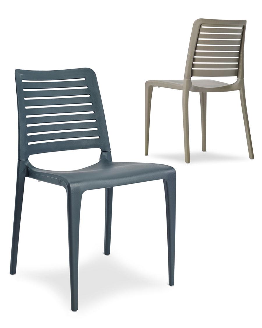 porto indoor outdoor stacking chair