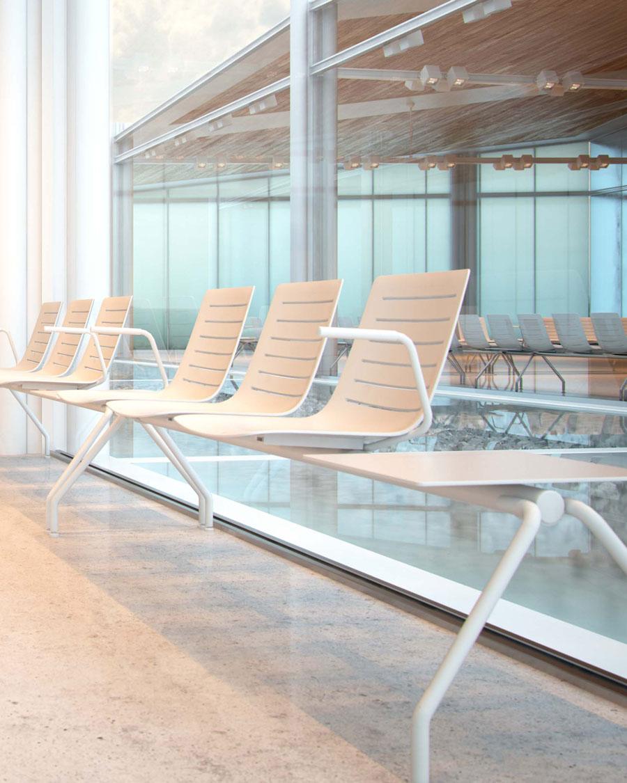 Skin Plastic Seat Bench Seating