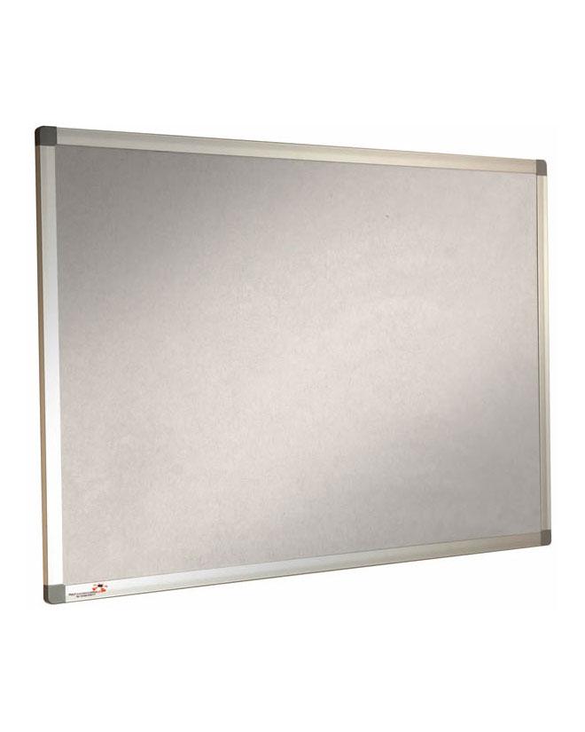Sundeala eco Grey Pinboard - Aluminium Frame