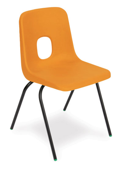 Series e writing tablet chair for Orange kids chair