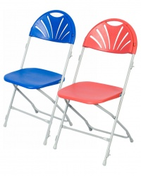 60 Exam Fan Back Folding Chair Trolley