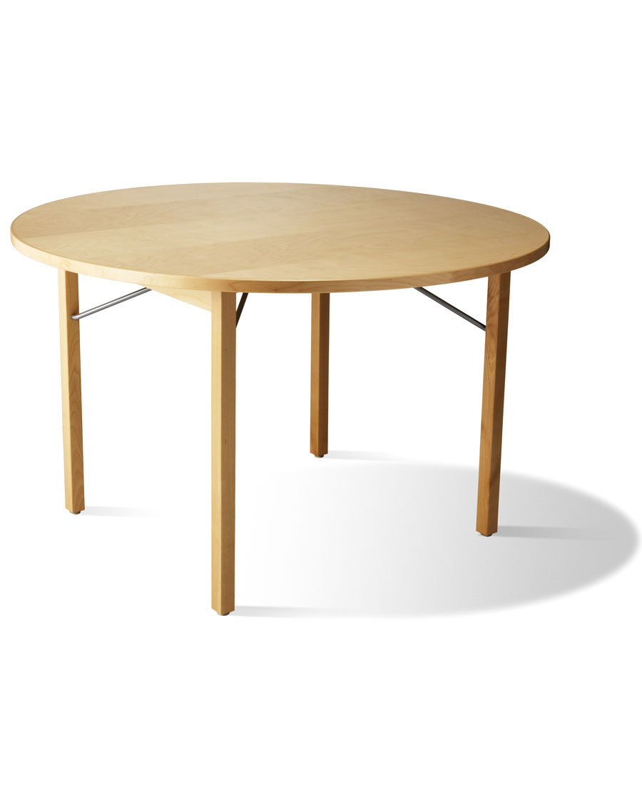 Quot B 310r Quot Round Folding Wooden Conference Table