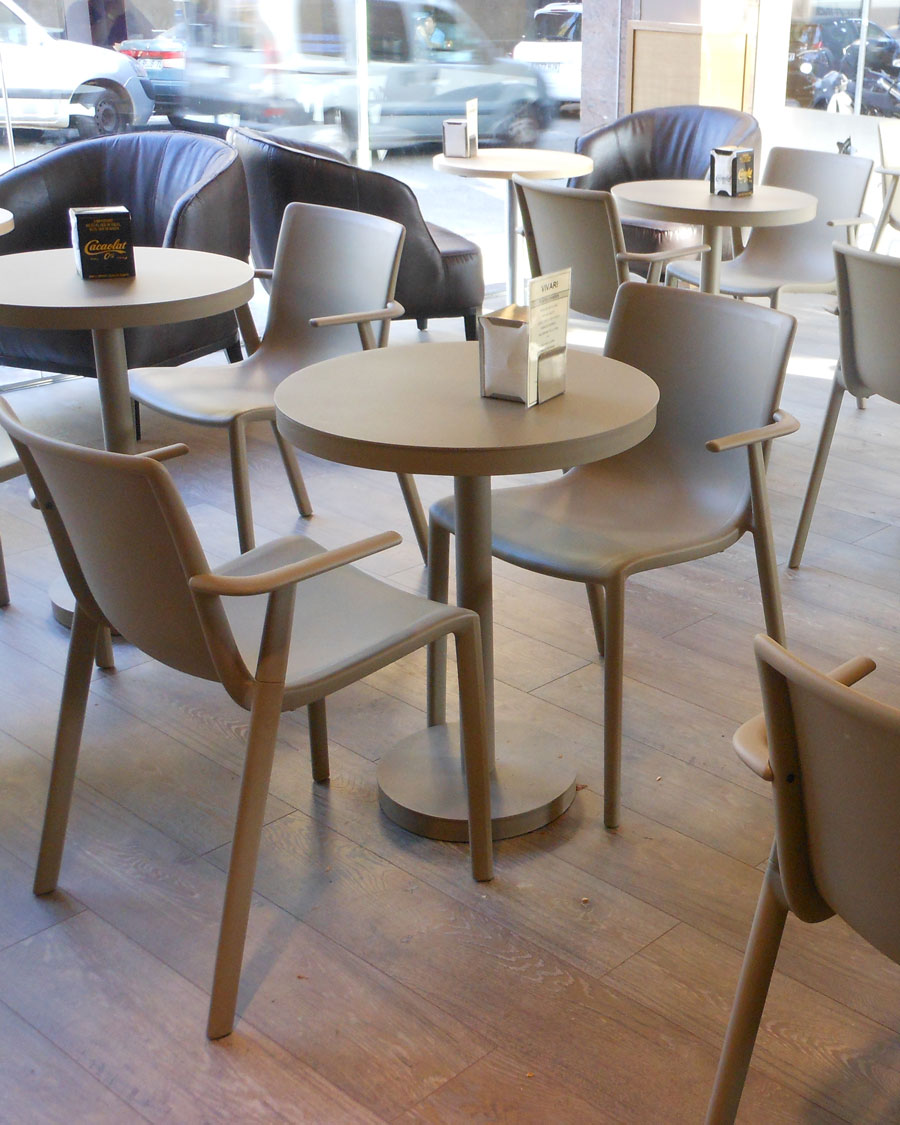 Barcino Indoor / Outdoor Pedestal Cafe Table