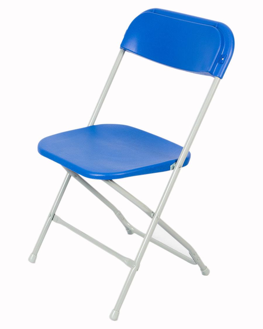 Exam Flat Back Folding Chair