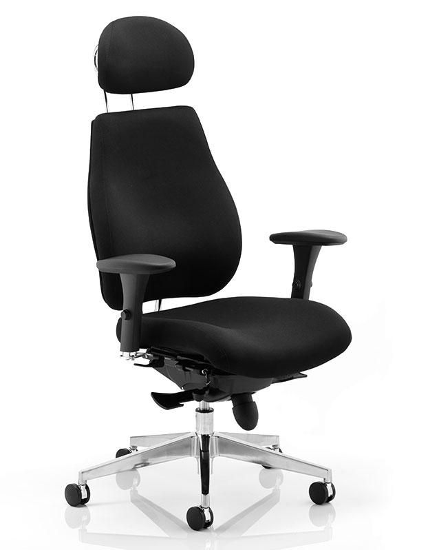 sc 1 st  Kirkhouse & Akiro Office Chair + Headrest 24H