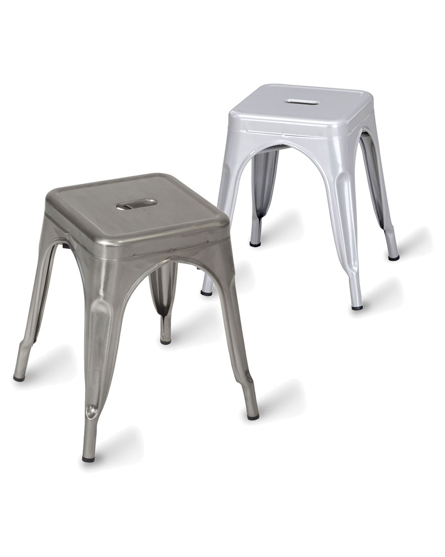 Pleasing Paris Low Metal Stool Gmtry Best Dining Table And Chair Ideas Images Gmtryco